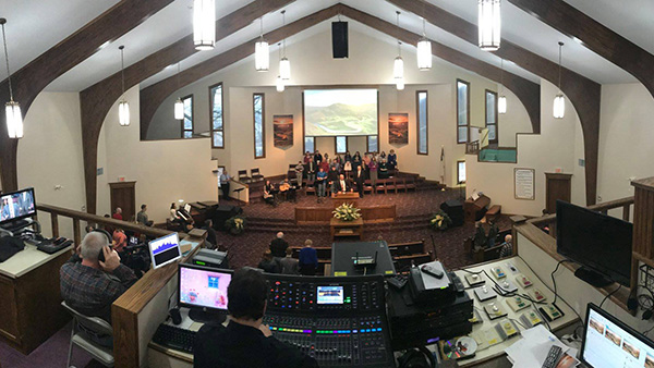 Church Sound Check