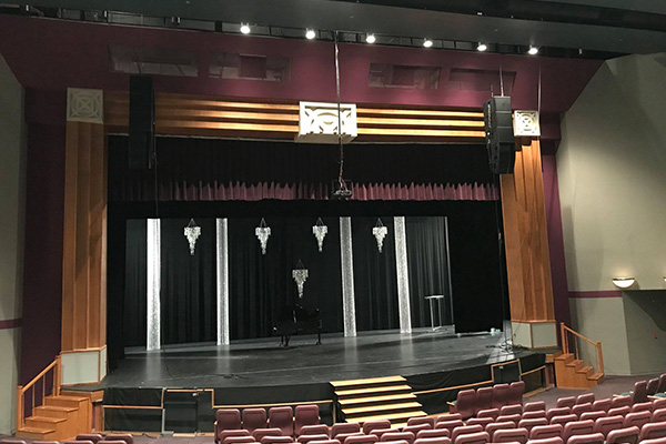 Theater Sound Install
